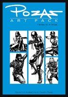 Pozas Art Pack Fantasy vol. 5: Ninjas!