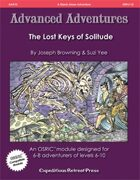 Advanced Adventures #10: The Lost Keys of Solitude