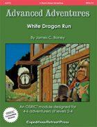 Advanced Adventures #13: White Dragon Run