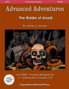 Advanced Adventures #20: The Riddle of Anadi