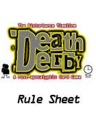 Death Derby: A Post-apocalyptic Card Game Rule Sheet