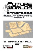 """Future Worlds Landscapes:  Stepped 2"""" Hill Set"""