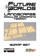 Future Worlds Landscapes:  Swamp Set