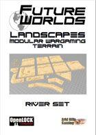 Future Worlds Landscapes:  River Set