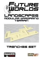 Future Worlds Landscapes:  Trenches Set