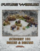 Future Worlds: Scenery 101 Boxes & Drums