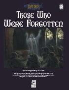 Those Who Were Forgotten