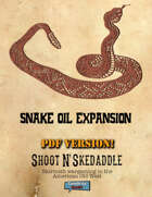 Shoot N' Skedaddle: Snake Oil Expansion PDF