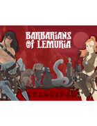 Barbarians of Lemuria: Mythic Edition GM Screen Inserts