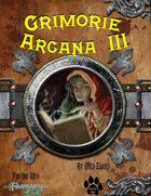 Grimoire Arcana III W/Hero Designer Files