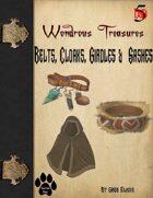 Wondrous Treasure #3 - Belts, Cloaks, Girdles & Sashes
