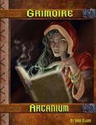 Grimoire Arcanium W/Hero Designer Files and/or Print On Demand