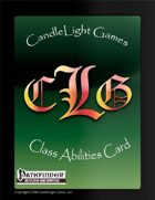 Blank Class Ability Cards