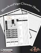 CandleLight Games Wounds and Vigor Character Sheet