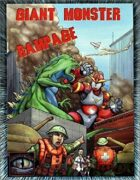 Giant Monster Rampage 1st Edition