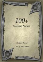 100+ Starship Names