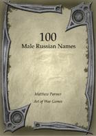 100 Russian Male Names