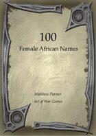100 Female African Names