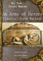 Get Some! Fantasy Warfare: An Army of Heroes: Classical Greek Army List