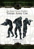 GetSome! Future Warfare: Terran Army List