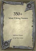 350+  Male Viking Names