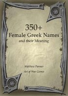 350+  Female Greek Names and Their Meaning