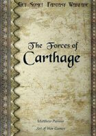 Get Some! Fantasy Warfare: The Forces of Carthage Army List