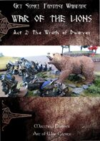 Get Some! Fantasy Campaign: War of the Lions: Act 2 The Wrath of Dwarves