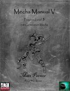 Mecha Manual V: PL5 Early Mecha