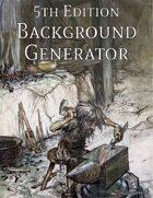 5th Edition Background Generator