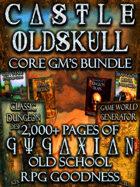 CASTLE OLDSKULL Core Game Master's Bundle [BUNDLE]