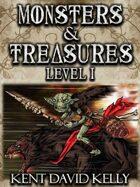 CASTLE OLDSKULL - Monsters & Treasures Level 1