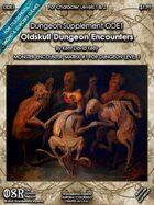 CASTLE OLDSKULL - Oldskull Dungeon Encounters Book I