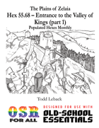 PHM Hex 55.68 -- Entrance to the Valley of Kings (pt. 1)