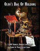 Olov's Bag Of Holding: 1,000 Trinkets, Baubles, & Curios