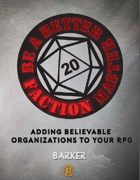 Be A Better Faction Master