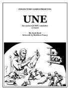 UNE, The Universal NPC Emulator (rev.)
