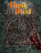 Vampire: La Mascarade - V20 - Dust to Dust