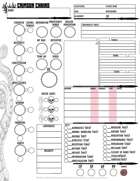 SCP Crimson Chains Character Sheet