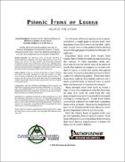 Psionic Items of Legend: Helm of the Hydra