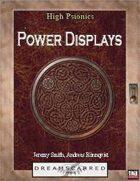 High Psionics: Power Displays