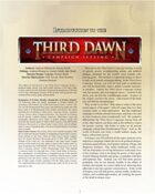 Introduction to Third Dawn