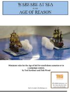 Warfare at Sea in the Age of Reason