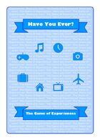 Have You Ever? The Game of Experiences
