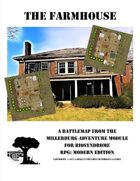 The Farmhouse Battle Map - A Farmhouse Overrun with Zombies