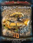 """BSG Miniatures - """"Dug-in"""" markers"""