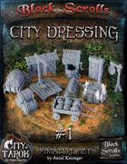 [3D] City of Tarok: City Dressing #1 - Outer items