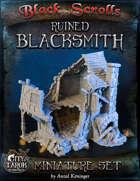[3D] City of Tarok: Ruined Blacksmith