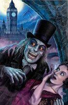Vampire of London Art Poster by Scott Jackson