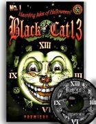 Black Cat 13 Haunting Tales of Halloween #1 Comics & Soundtrack [BUNDLE]